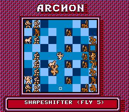 Archon (U) - Стратегии для Dendy